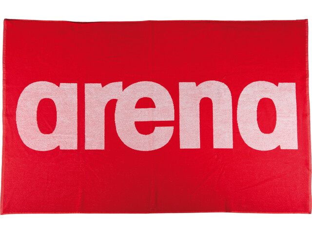 arena Handy Towel red-white